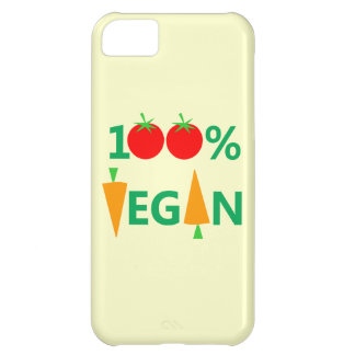 Vegan Diet Cute Cartoon Tomatoes and Carrots Cover For iPhone 5C