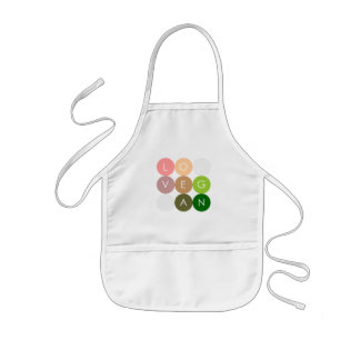 Vegan Dot Love Kids' Apron