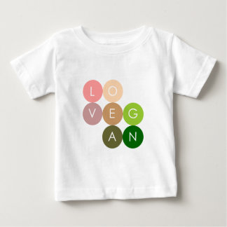 Vegan Dot Love Baby T-Shirt