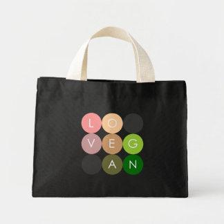 Vegan Dot Love Mini Tote Bag