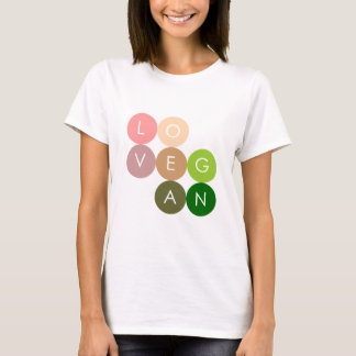 Vegan Dot Love T-Shirt