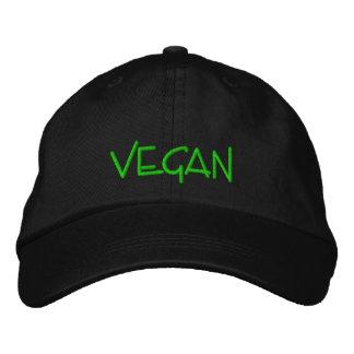 Vegan Embroidered Baseball Hat
