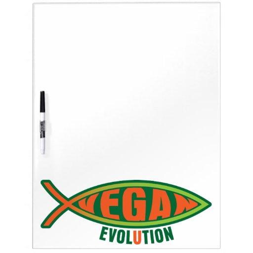 Vegan Evolution Dry Erase Boards