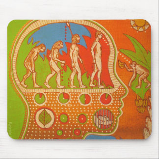 Vegan evolution mouse pad