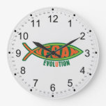 Vegan Evolution Wall Clocks