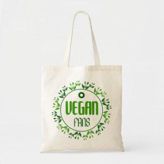 vegan fans tote bag
