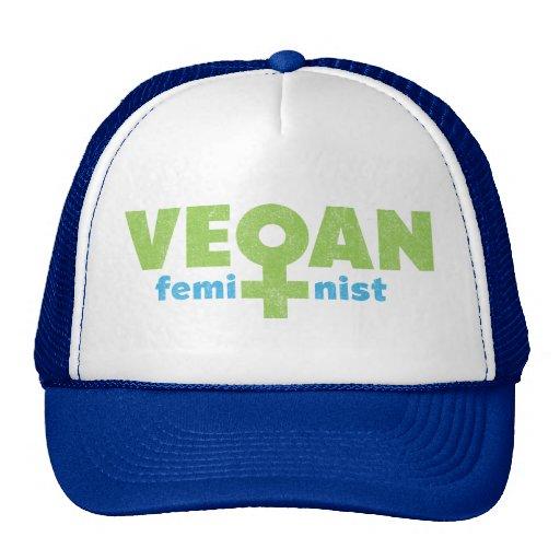Vegan Feminist Trucker Hat
