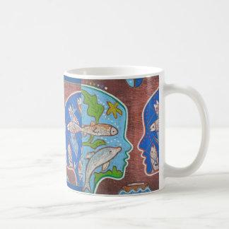 Vegan fish mug