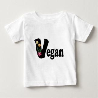 Vegan Flower Baby T-Shirt