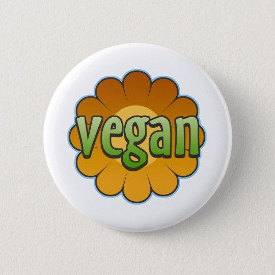 Vegan Flower Button