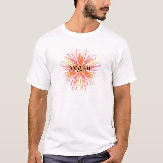 Vegan flower design T-Shirt