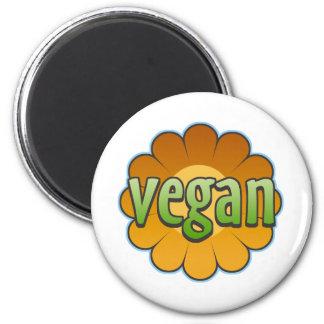 Vegan Flower Magnet
