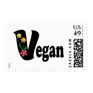 Vegan Flower Postage