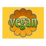 Vegan Flower Postcard