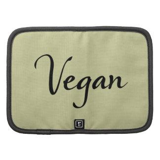 Vegan Folio Organizers