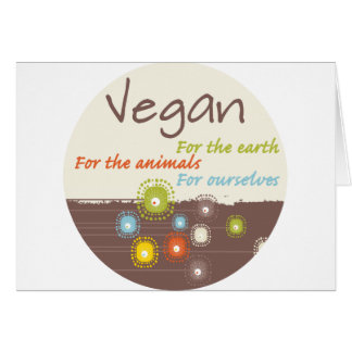 Vegan for a Reason Apparel and Gifts Card