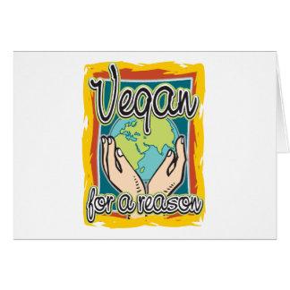 Vegan for a Reason Card
