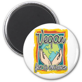Vegan for a Reason Magnet