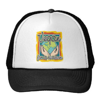 Vegan for a Reason Trucker Hat