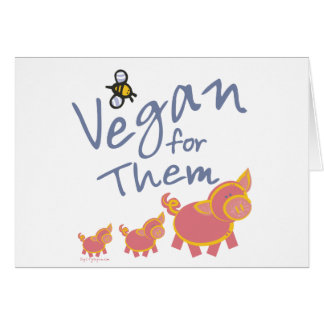 Vegan for Animals Card