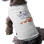 Vegan for Animals Dog Tshirt