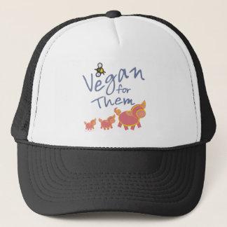 Vegan for Animals Trucker Hat
