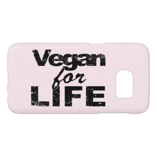 Vegan for LIFE (blk) Samsung Galaxy S7 Case