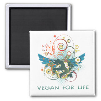 Vegan for Life Magnet