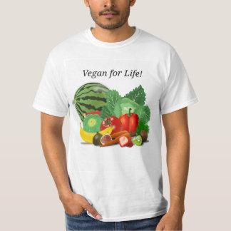Vegan for Life! Tee Shirt
