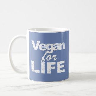 Vegan for LIFE (wht) Coffee Mug