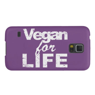 Vegan for LIFE (wht) Galaxy S5 Case