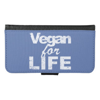 Vegan for LIFE (wht) Wallet Phone Case For Samsung Galaxy S6