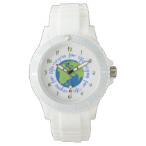 Vegan for Life Wrist Watch