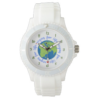 Vegan for Life Wristwatch
