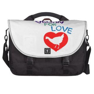 Vegan for Love Bag For Laptop