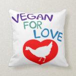 Vegan for Love Pillows