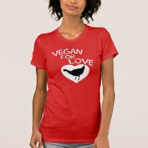 Vegan for Love T-Shirt