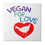 Vegan for Love Tiles