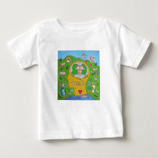 Vegan for the animals baby T-Shirt