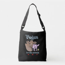 Vegan for the animals bag