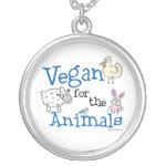 Vegan for the Animals Pendant