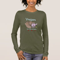 Vegan for the animals shirt