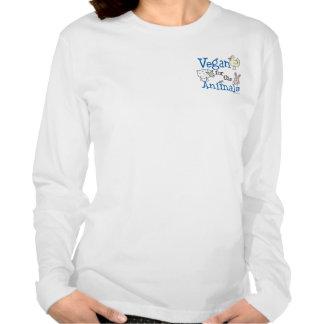 Vegan for the Animals Tee Shirt