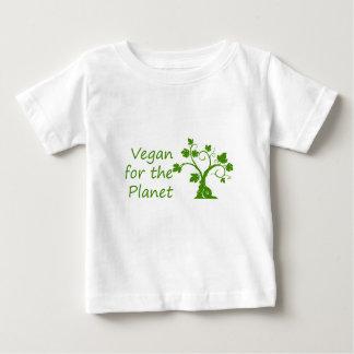 Vegan for the Planet Infant T-shirt
