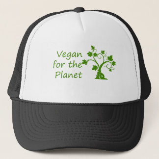 Vegan for the Planet Trucker Hat
