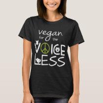 vegan for the voice less bird kid vegan pig T-Shirt