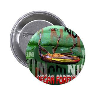 vegan forever button