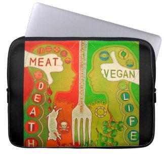 Vegan fork computer cover funda ordendadores