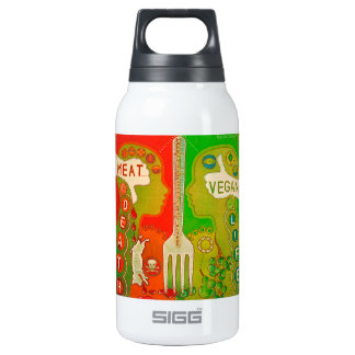 Vegan fork thermos bottle