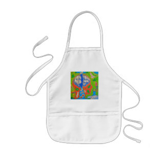 Vegan free animals kids' apron